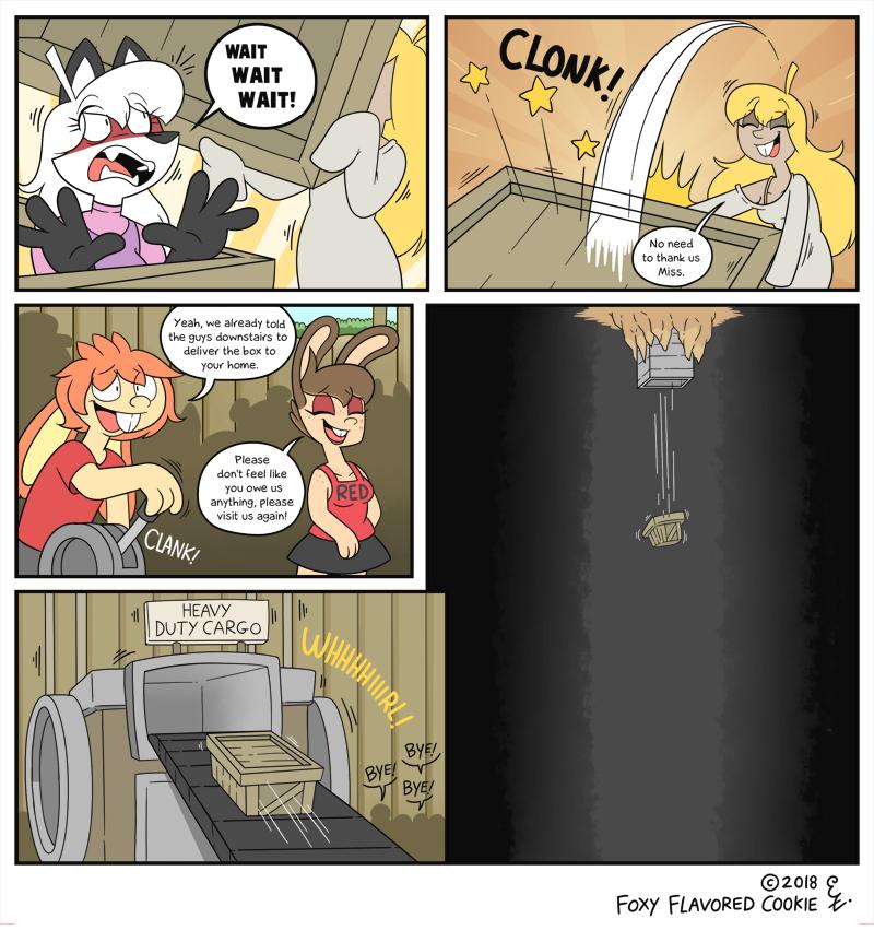 Deep chute